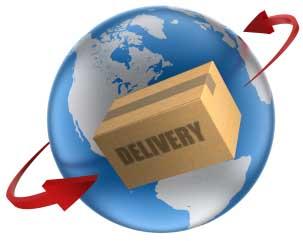 personal sending internationally parcels international